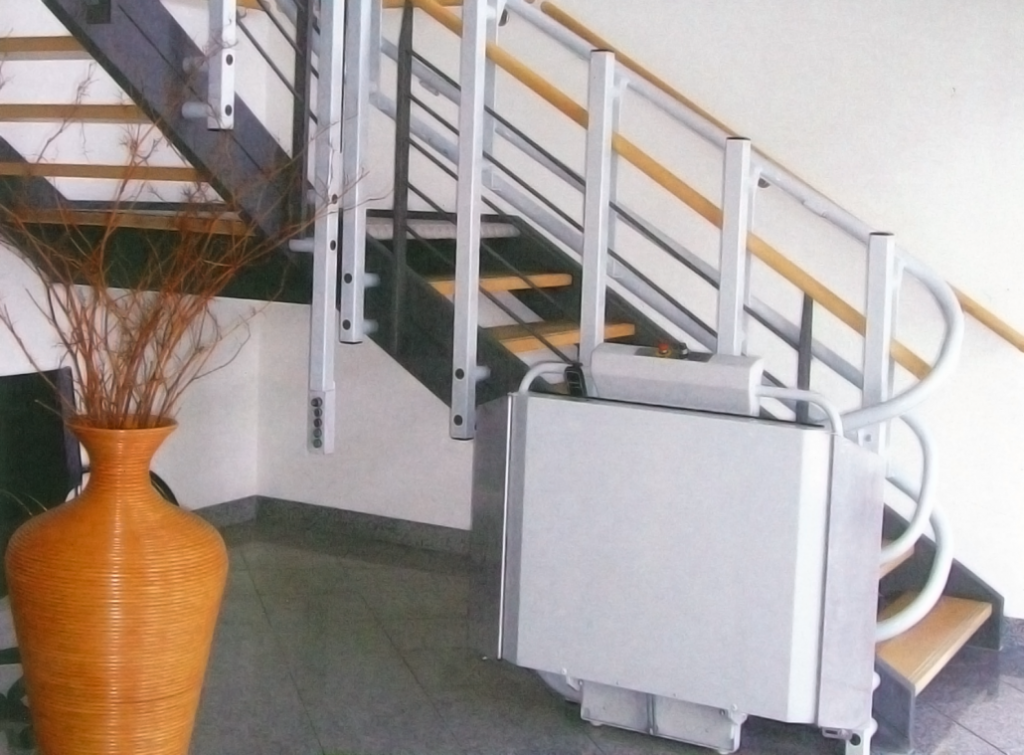 Residential Wheelchair Lift : Residential inclined wheelchair lifts elevator service