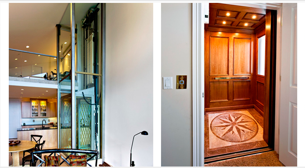 Customizing your home elevator elevator service co inc for Home elevator kit