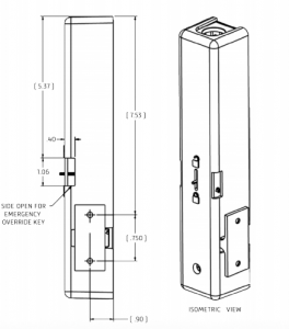elevator door interlock